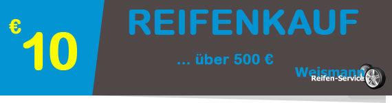 Bild Coupon Reifenkauf über 500 €